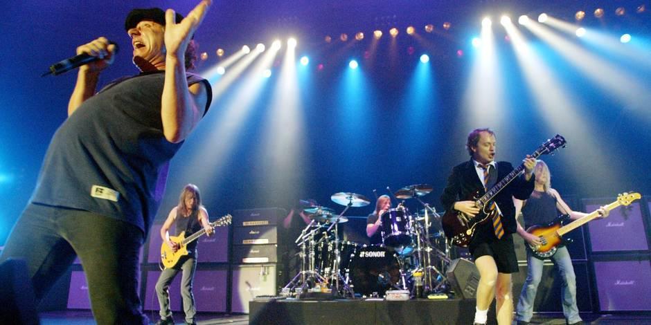 Le concert d'AC/DC soldout en deux heures