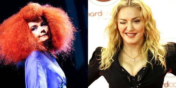 Après Madonna, Bjork à son tour victime d'internet - La DH