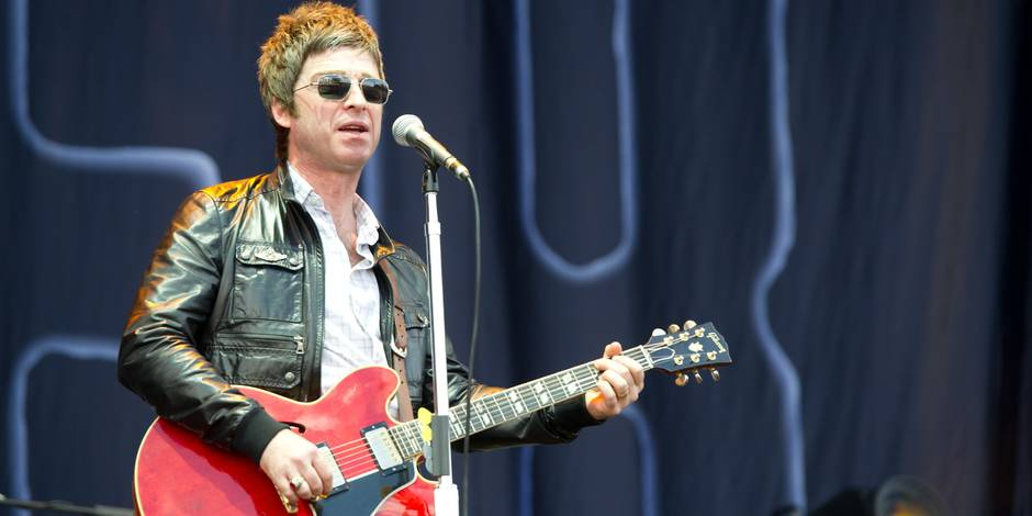 Noel Gallagher à Rock Werchter