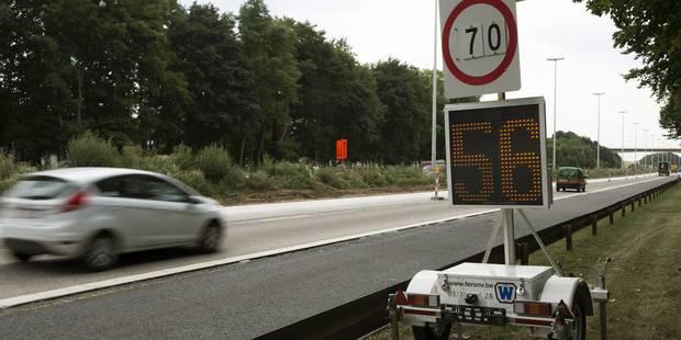 +40% d'excès de vitesse sur les chantiers wallons - La DH