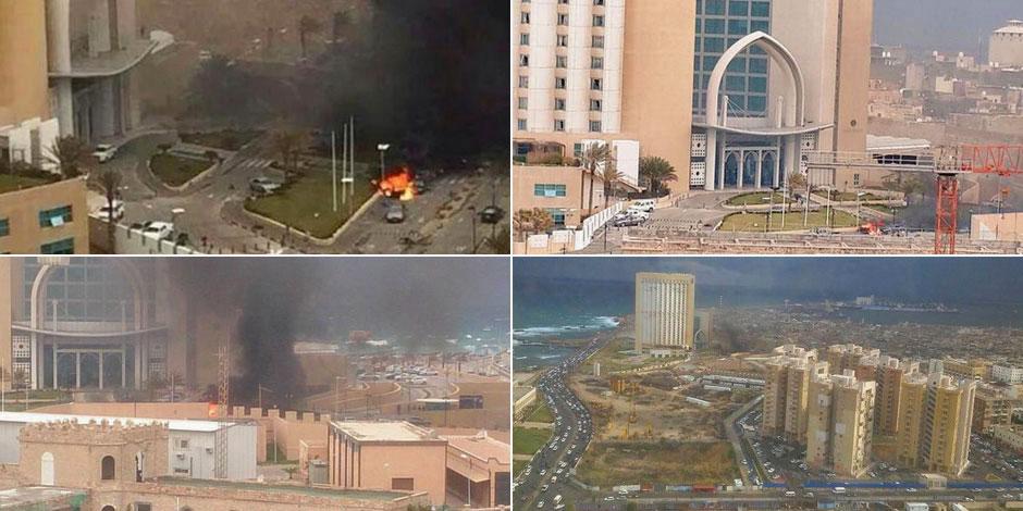 Les assaillants de l'EI se font exploser dans l'hôtel à Tripoli: au moins cinq étrangers tués
