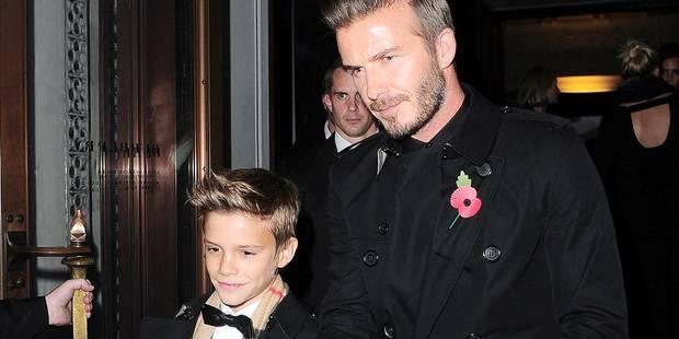 David Beckham a un nouveau jeu: embarrasser ses garçons devant leurs amis ! - La DH