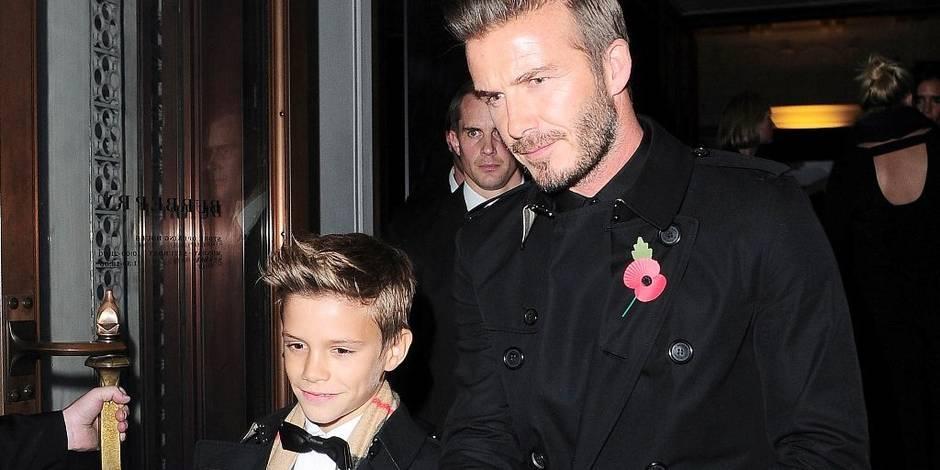 David Beckham a un nouveau jeu: embarrasser ses garçons devant leurs amis !