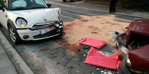 Accident à Grez-Doiceau: 7 blessés dont 4 enfants - La DH