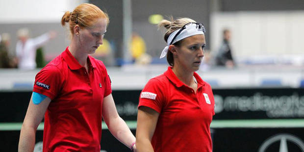 Fed Cup: la Belgique battue par la Hongrie 3-0 - La DH