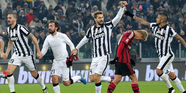Juventus 3-1 AC Milan : la Juventus en tête