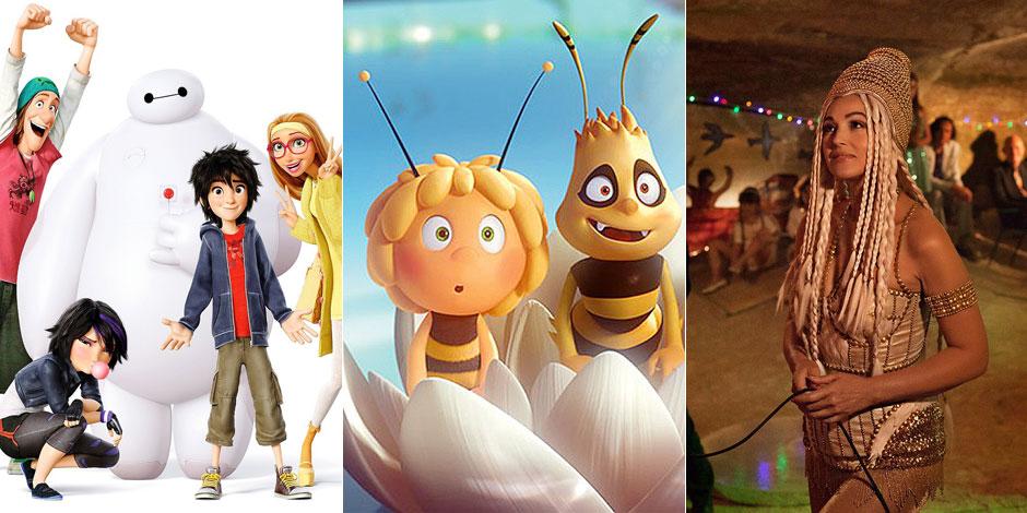 Les sorties ciné de la semaine: un robot attachant, une abeille qui a le bourdon et une oeuvre traînante