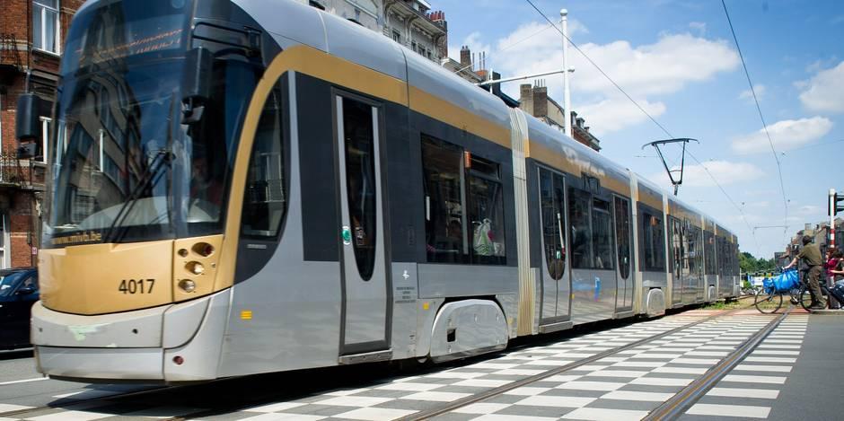 Une enfant de 4 ans heurtée par un tram à Schaerbeek