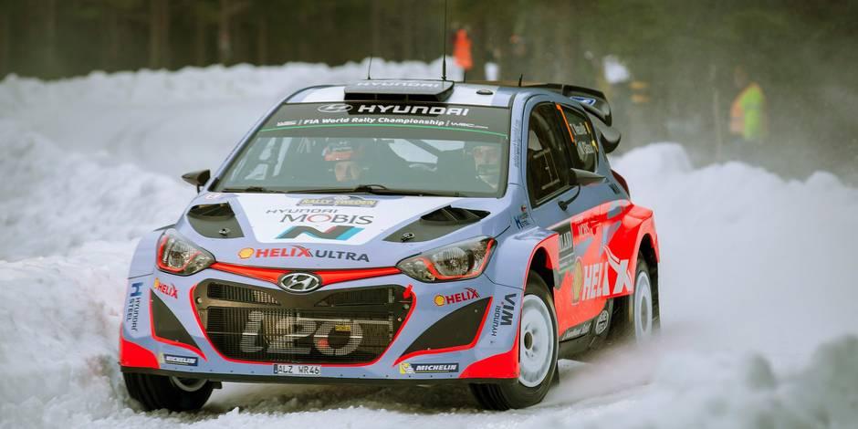 Rallye de Suède: Thierry Neuville 5e