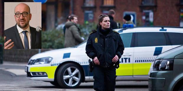 """Charles Michel condamne un """"lâche attentat"""" à Copenhague - La DH"""