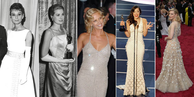 Voici ce que les actrices ont porté aux Oscars depuis 1929 - La DH