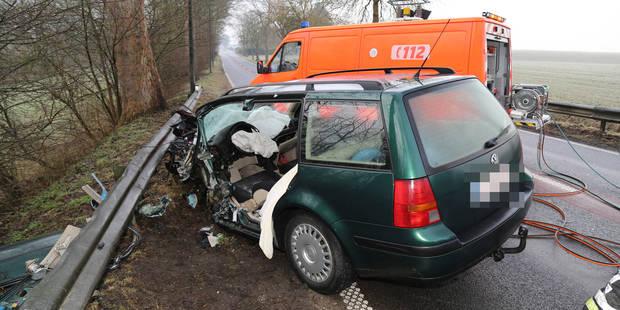 Thuillies: Terrible collision frontale, deux blessés graves - La DH