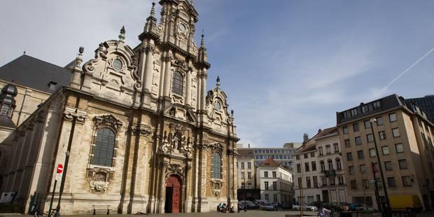 Bagarre à l'église du Béguinage: un sans-papier tué d'un coup de barre de fer - La DH