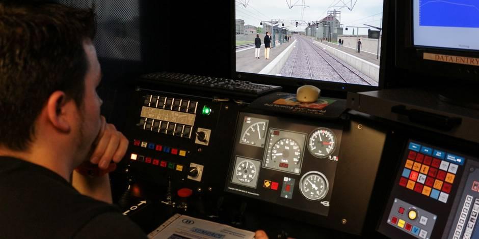 Formation des conducteurs de trains: ?Un freinage d'urgence, ce n'est jamais gai? - La DH