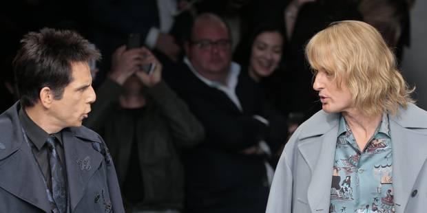 Ben Stiller et Owen Wilson débarquent en force sur un podium de la Fashion Week à Paris - La DH