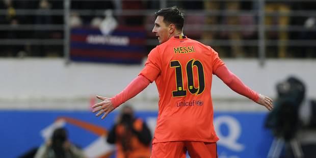 Liga: Messi déroule, l'Atlético craque - La DH