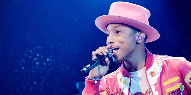 Pharrell Williams �lu ic�ne de mode