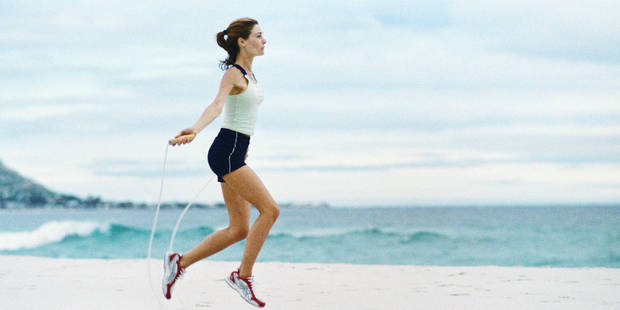 Le saut à la corde : sport gagnant pour la mise en forme de printemps - La DH