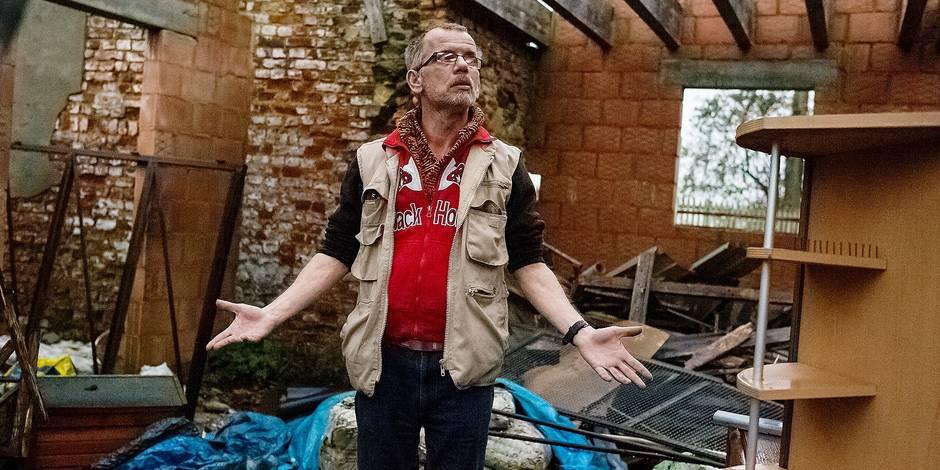 Ecaussinnes: Son studio détruit sur ordre du Conseil d'État - La DH