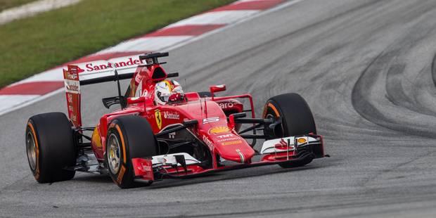 Sebastian Vettel remporte le GP de Malaisie (PHOTOS) - La DH