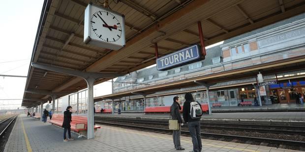 Interruption de la circulation ferroviaire entre Tournai et Blaton - La DH