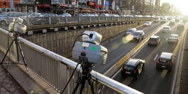 Plus de 850 véhicules flashés samedi à Bruxelles - La DH