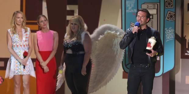 """Les MTV Movie Awards récompensent """"Nos étoiles contraires"""" et Bradley Cooper - La DH"""