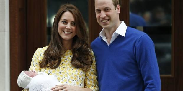 Voici les premières images du bébé de Kate et William - La DH
