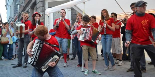 Tournai prêt à battre au rythme de l'accordéon - La DH