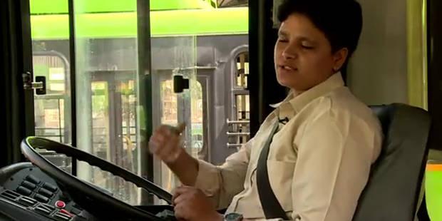 Harcèlement sexuel: Saritha, 30 ans, première conductrice de bus à New Delhi - La DH