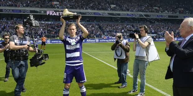 "Praet: ""On n'est pas le plus grand candidat au titre"""