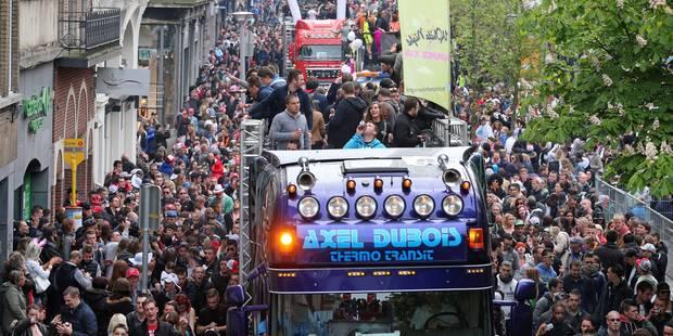 Affluence moindre à la City Parade de Charleroi - La DH