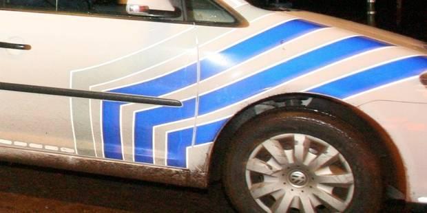 Vol à la voiture-bélier et combi de police percuté à Marcinelle - La DH