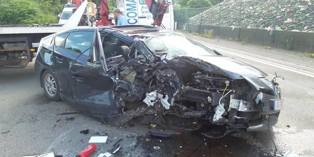 L'échevin de Charleroi, Serge Beghin, victime d'un grave accident à Dampremy - La DH