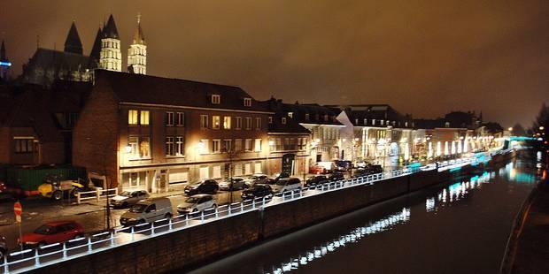 Découvrir Tournai en courant et de nuit - La DH