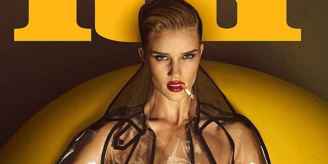 Rosie Huntington-Whiteley torride en couverture de Lui