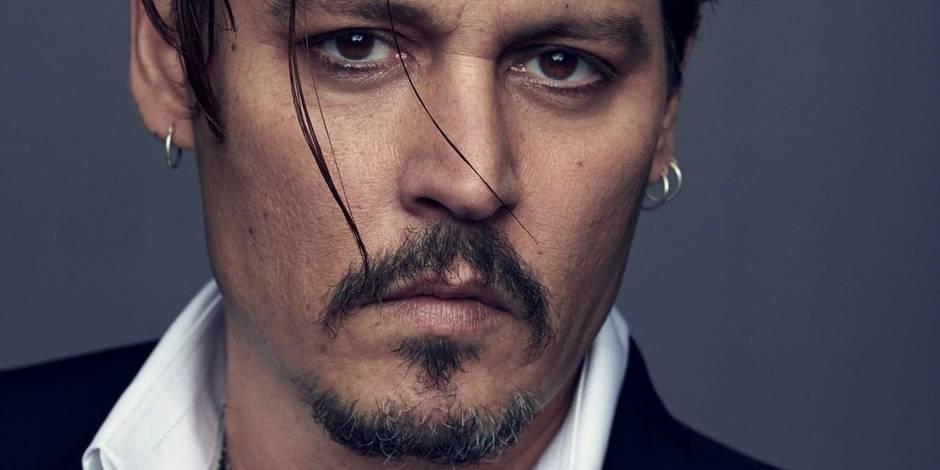 Johnny Depp, nouveau visage Dior