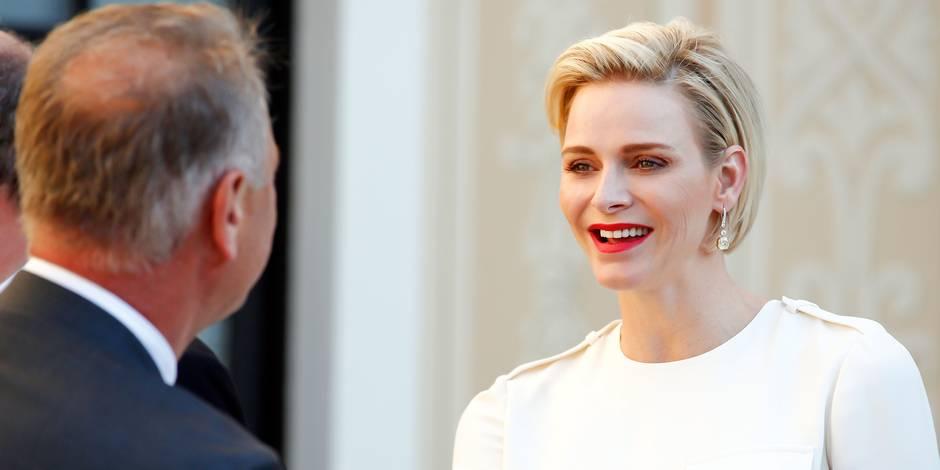 Charlène de Monaco, souriante et glamour