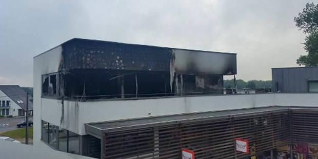 Incendie criminel au Loft Bar Lounge de Gerpinnes