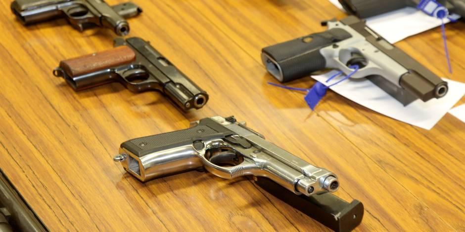 Des milliers d'armes non déclarées en Belgique