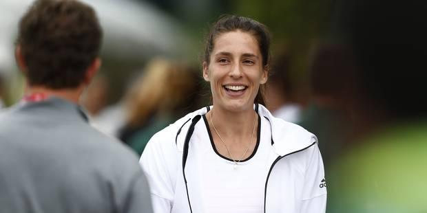 """Wimbledon: Andrea Petkovic """"vole"""" une balle à un ramasseur ! - La DH"""