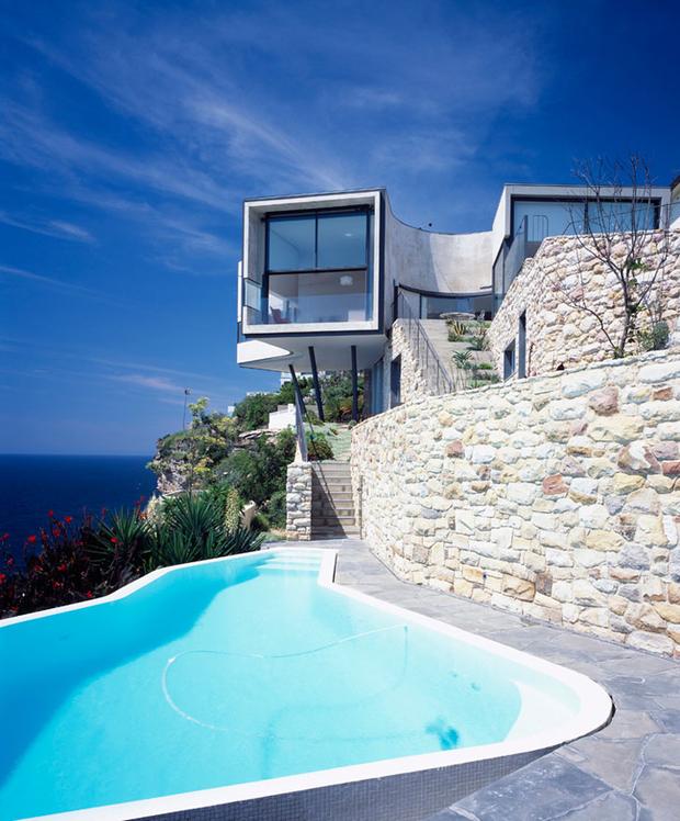 huit piscines pour faire r ver. Black Bedroom Furniture Sets. Home Design Ideas