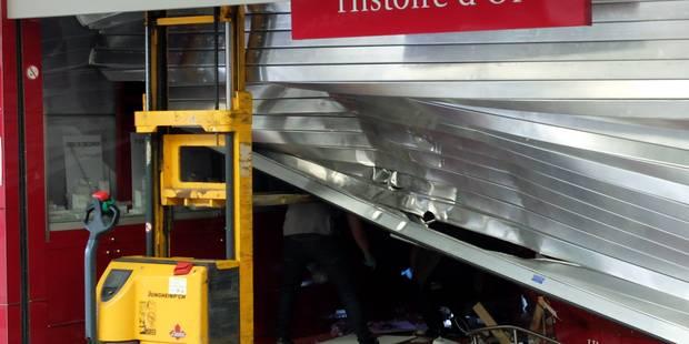 Vol à la voiture bélier au Cora d'Anderlecht: les trois suspects sous mandat d'arrêt - La DH