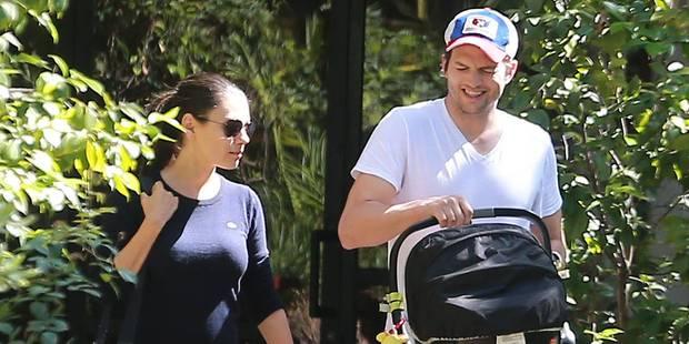 """Ashton Kutcher et Mila Kunis se sont dit """"oui"""" - La DH"""