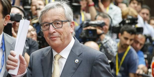 """Juncker: """"La zone euro a pr�par� un sc�nario d�taill� pour une �ventuelle sortie de la Gr�ce"""""""