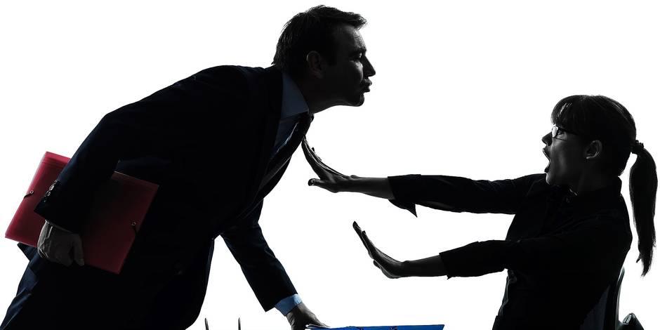 Exclusif: harcèlement au travail, 6 fois moins de plaintes en 3 ans - La DH
