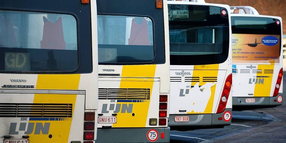 De Lijn veut sacrifier son bus de nuit vers l'aéroport - La DH