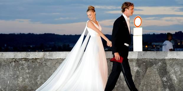 Un mariage, plusieurs robes, l'élégance de Béatrice Borromeo - La DH