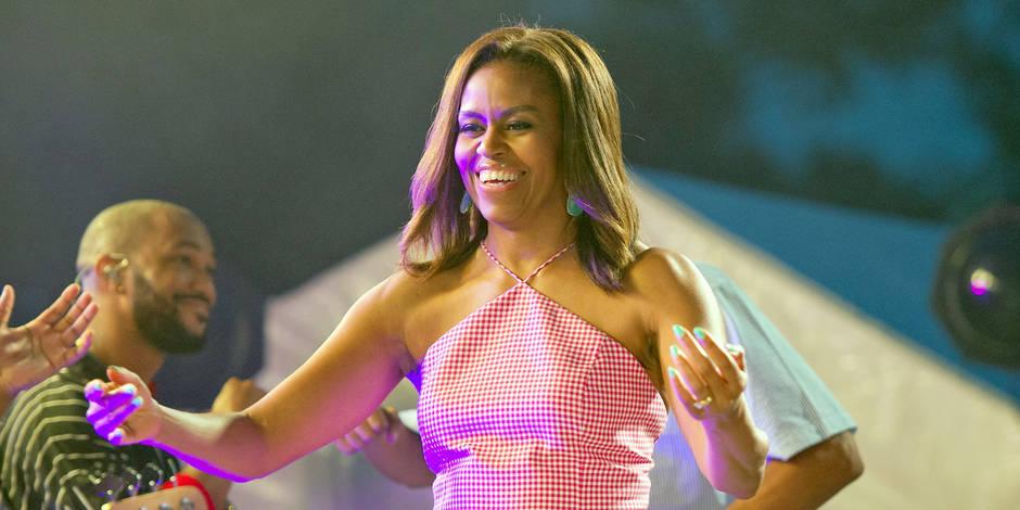 Lorsque Michelle Obama rêve d'être Beyoncé et l'imite