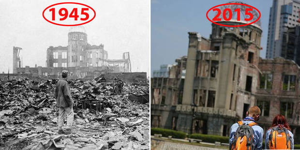 Hiroshima, 70 ans après (PHOTOS) - La DH